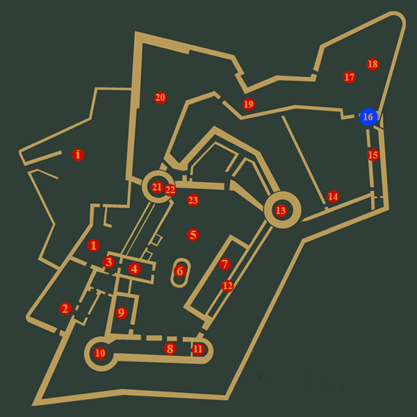Guide karta 16